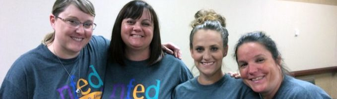Four NFED Moms Support Each Other